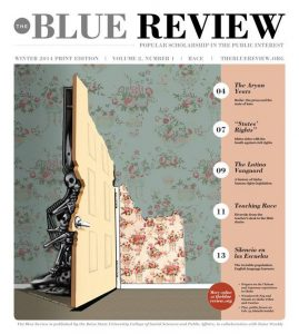 The Blue Review, Winter 2014